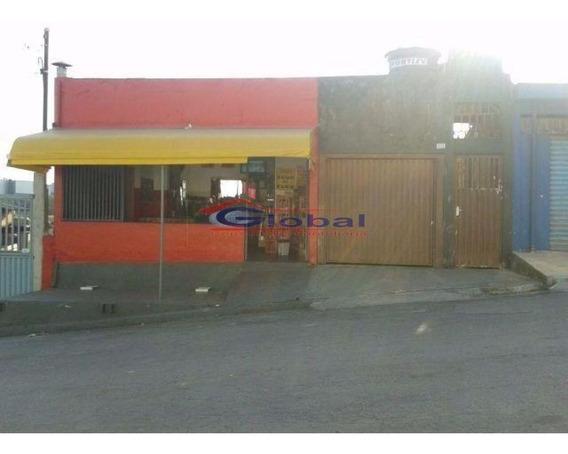 03 Casas + Salão Comercial - Jardim Camila - Mauá - Gl37554