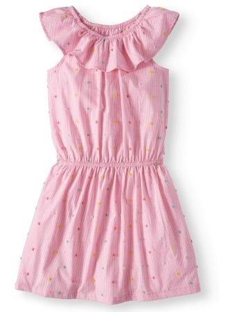 Vestido Rosado De Niña