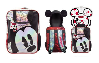 Mochila Infantil Espalda Jardin Disney Mickey Km738 Cuotas