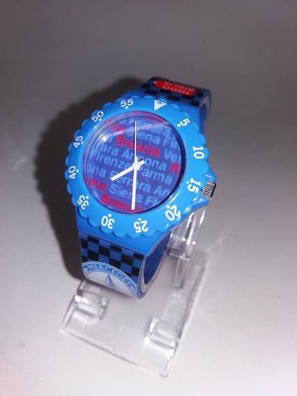 Relógio Mercedes Benz 1000 Miglia Caixa Plástica Com 38mm