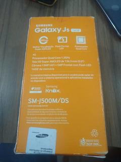 Celular Samsung Galaxy J5 Preto 16gb Dual Sim Na Caixa Orig