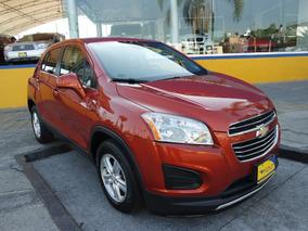 2016 Chevrolet Trax Lt Paq b 4 Cil. 1.8 Lts. Color Naranja
