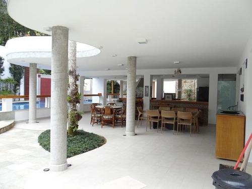 Sobrado Com 5 Dormitórios À Venda, 500 M² Por R$ 3.850.000,00 - Park Imperial - Caraguatatuba/sp - So0416