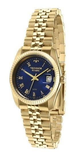 Relógio Technos Feminino Classic Riviera Gl10ib/4a