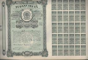 Brasil 1948 Apólice Do Município De Tupanciretã / Rs Cr$1000