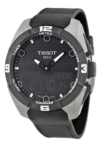 Tissot T Touch Expert Solar Em Titânio - T091420460510