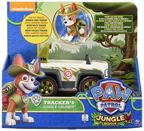 Paw Patrol Jungle Rescue Tracker.s Cruiser Vehículo