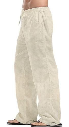 Imagen 1 de 5 de Pantalón De Manta Para Hombre, Playa, Descanso, Yoga