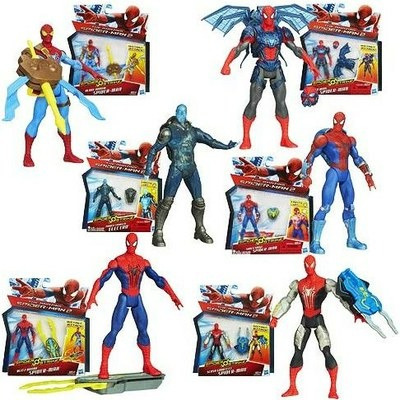 Spiderman 2 Figura De Acción Con Acc. Original Hasbro A5700