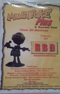Dvd Multioke - Tributo Ao Rbd (978260)