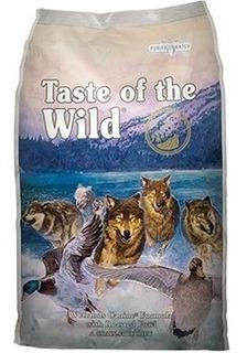 Taste Of De Wild Wetlands 14 Lbs Pato + Env Gra