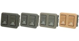 Interruptor De Vidro Duplo Dianteiro Esquerdo Santana/ Quant