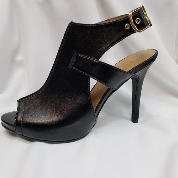 Sandalia De Moda Tipo Botín Abierta