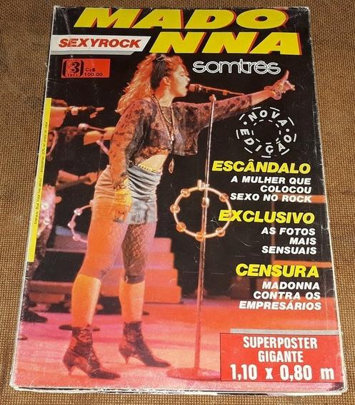 Madonna - Revista Pôster Gigante Somtrês