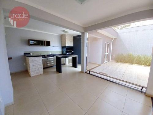 Casa Com 3 Dormitórios À Venda, 168 M² Por R$ 585.000,00 - Bonfim Paulista - Ribeirão Preto/sp - Ca4170