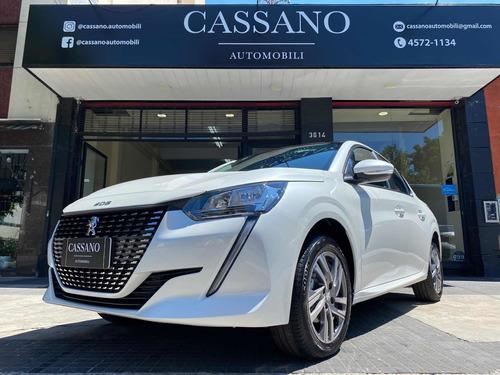 Peugeot 208 2021 1.6l Allure Tiptronic Blanco Cassano Automo