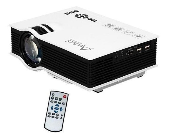 Projetor Data Show Retropojetor Audiosat 800 Lumens Full Hd