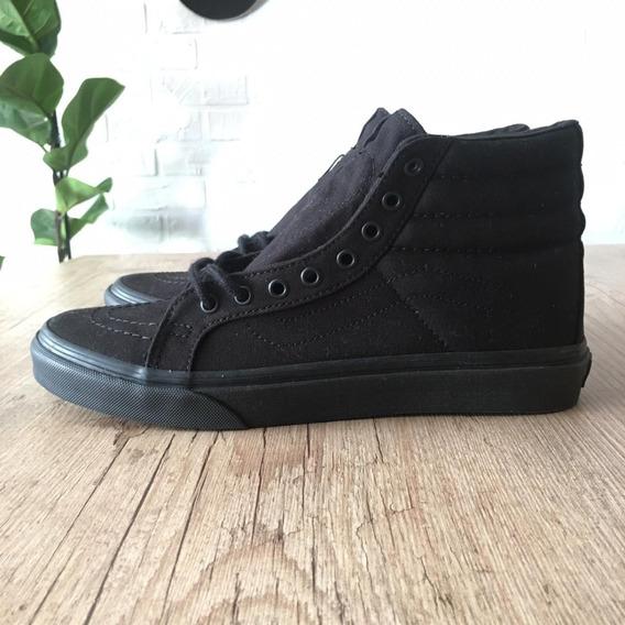 Tênis Vans Sk8-hi Slim Black 37 100% Original