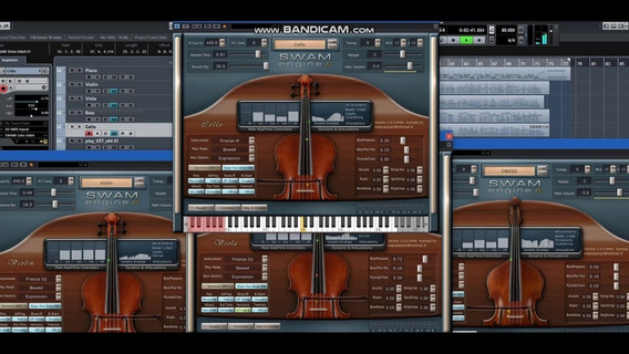 Swam Engine Vst Instrumento ( Violin) X32/x64 Windows.