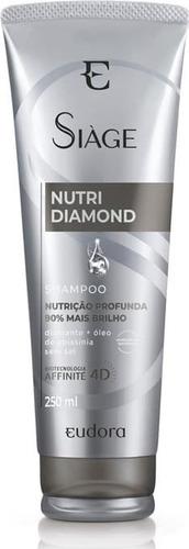 Shampoo Siage Nutri Diamond 250ml - Eudora