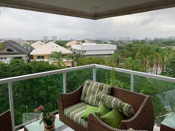 Apartamento Para Aluguel - Barra Da Tijuca - Marapendi, 3 Quartos, 105 - 893102523