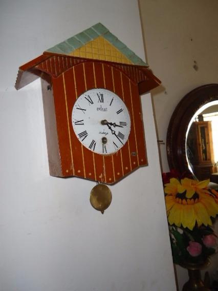 Reloj De Pared Antiguo Orient , Sin Funcionar