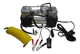 Compresor 12v Aire 2 Piston Metal Servicio Pesado Auto 4x4