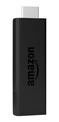 Imagen 1 de 4 de  Amazon Fire TV Stick 4K  de voz 4K 8GB  negro con 1.5GB de memoria RAM
