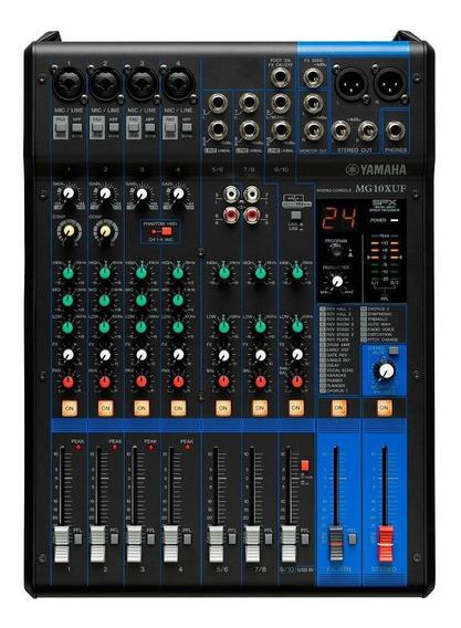 Mesa De Som Yamaha Mg10xuf 110v Com Faders
