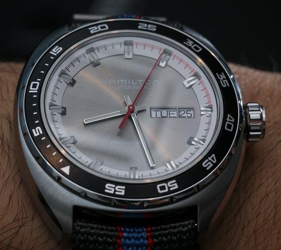 Relógio Hamilton Pan Europ Gray Automatic H35415781 2 Bands