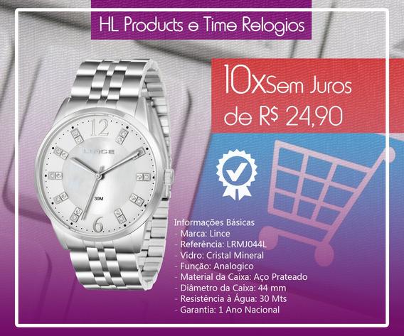 Relógio Lince Analogico Lrmj044l