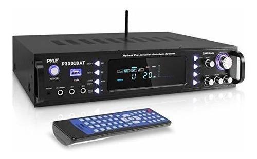 Imagen 1 de 7 de Amplificador Estéreo Inalámbrico Bluetooth Para El Hogar - A