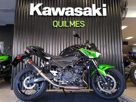 Kawasaki Z400 2020 Abs 0km Oficial Quilmes No Mt03 Cb500f