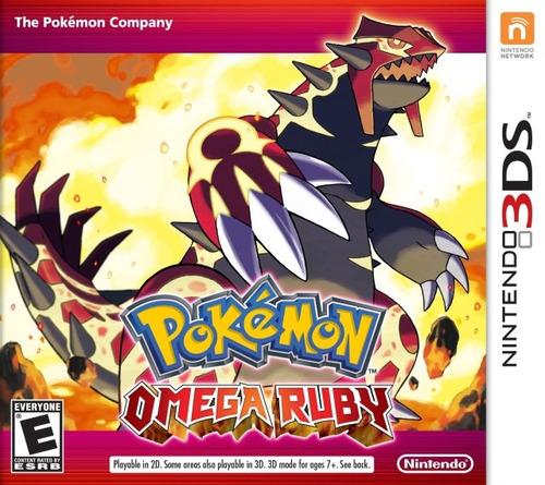 Juego Nintendo 3ds Pokemon Omega Ruby - Refurbished Fisico