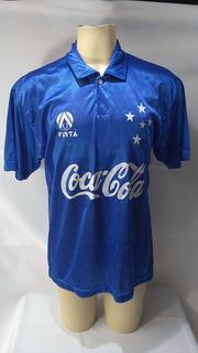 Camisa De Futebol Cruzeiro Finta Coca Cola 1993 1994 1995 10
