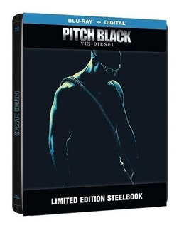 Blu Ray Pitch Black Steelbook Caja Metalica