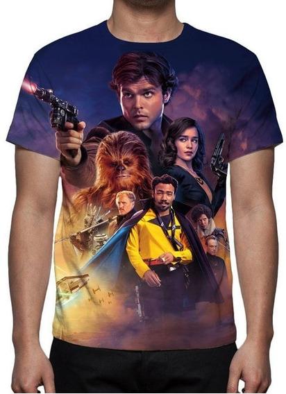 Camiseta Solo Uma História Star Wars Mod 02 - Estampa Total