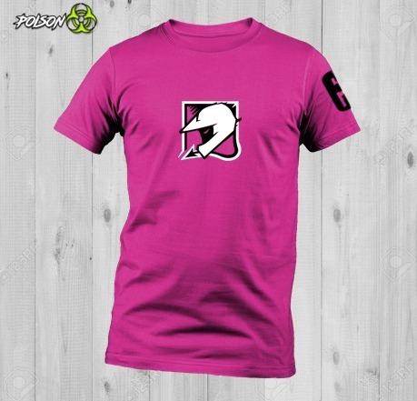 Playeras Dryfit Cuello Redondo Rainbow Six Siege Mozzie Logo