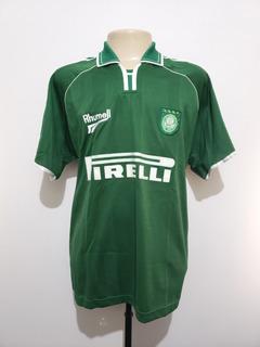 Camisa Oficial Palmeiras 2000 Home Rhumell G Brasileiro