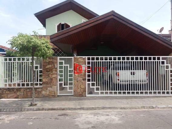 Casa Com 3 Dormitórios À Venda, 185 M² Por R$ 700.000,00 - Jardim Valparaíba - São José Dos Campos/sp - Ca1933