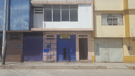 Se Alquila Casa Y Local Comercial En El Tambo Huancayo