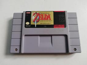 Cartucho Original Snes The Legend Of Zelda - Idioma Francês