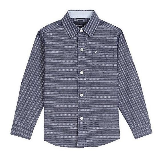 Camisa De Vestir Nautica