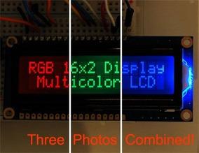 Display Lcd 2x16 Backlight Rgb