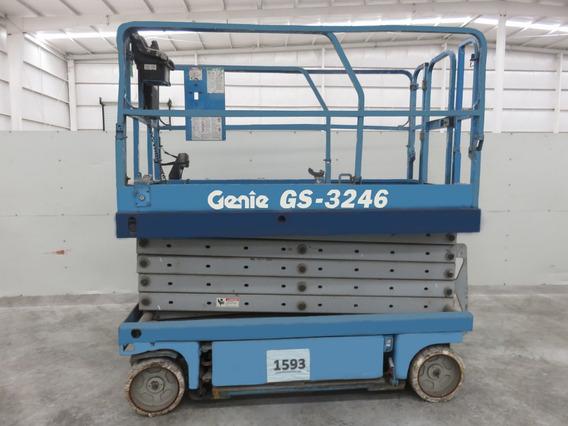 Plataforma Tijera Genie Gs3246 2002 Electrica 700 Lb
