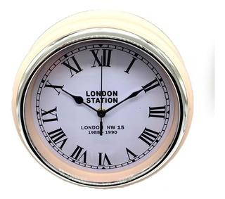 Reloj Retro London Station 3 Colores Decorativo Piu Online