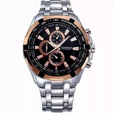 Relógio Masculino Curren Luxo