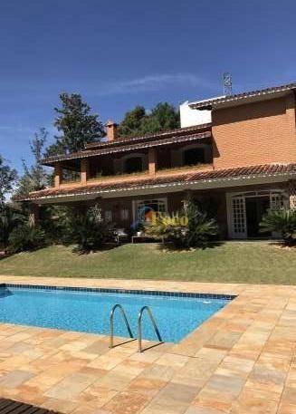 Chácara Com 4 Dormitórios À Venda, 4400 M² Por R$ 1.600.000,00 - Condomínio Parque Da Fazenda - Itatiba/sp - Ch0185