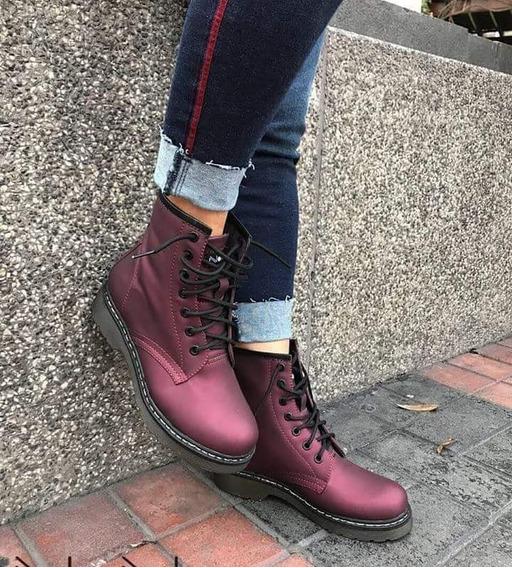 Botines Botas Boots Para Dama 100% Cuero Nacional