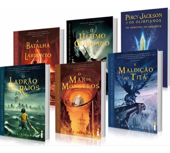 Coleção Completa Percy Jackson-rick Riordan
